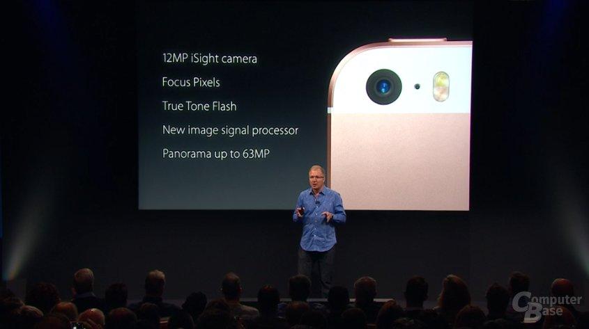 Dieselbe Kamera wie im iPhone 6s