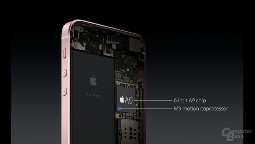 Das iPhone SE mit Apple SoC A9