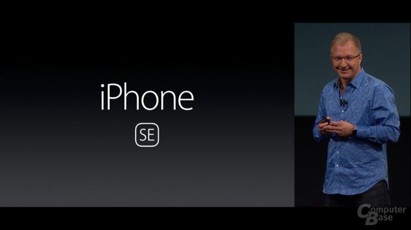 Das kleine iPhone heißt iPhone SE