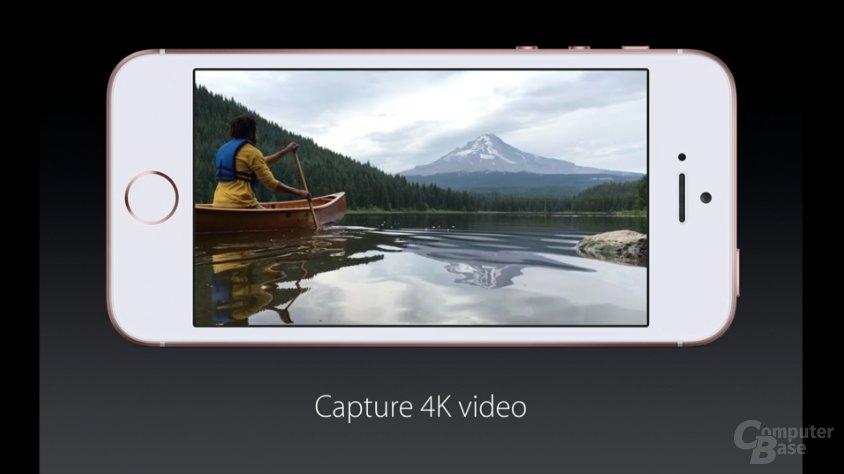 Videos sind in 4k möglich