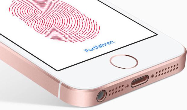 Touch ID der ersten Generation ist positiv langsamer