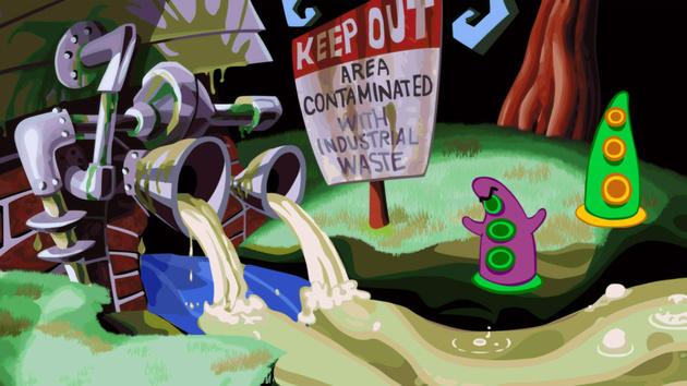 Jetzt verfügbar: Spieleklassiker Day of the Tentacle Remastered