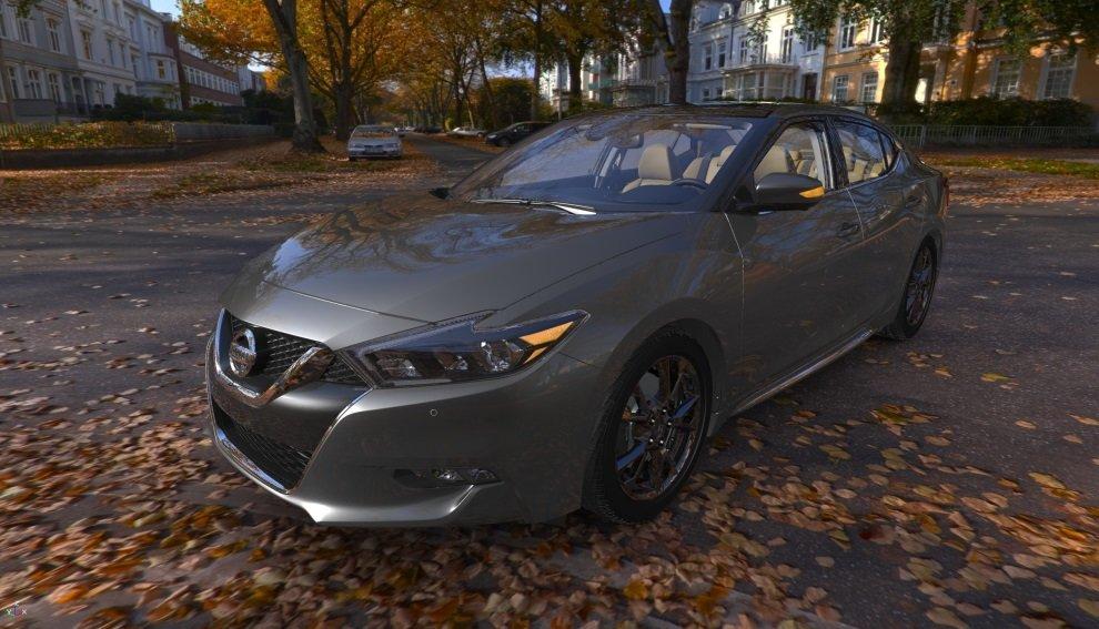 Nissan Maxima (2016) in 3DExcite DeltaGen gerendert
