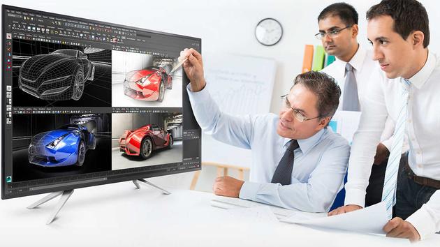 Philips BDM4350UC: Monitor-Riese mit 43 Zoll, Ultra HD und IPS