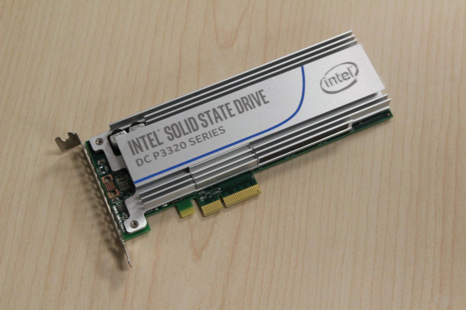 Intel SSD DC P3320 als PCIe-Karte
