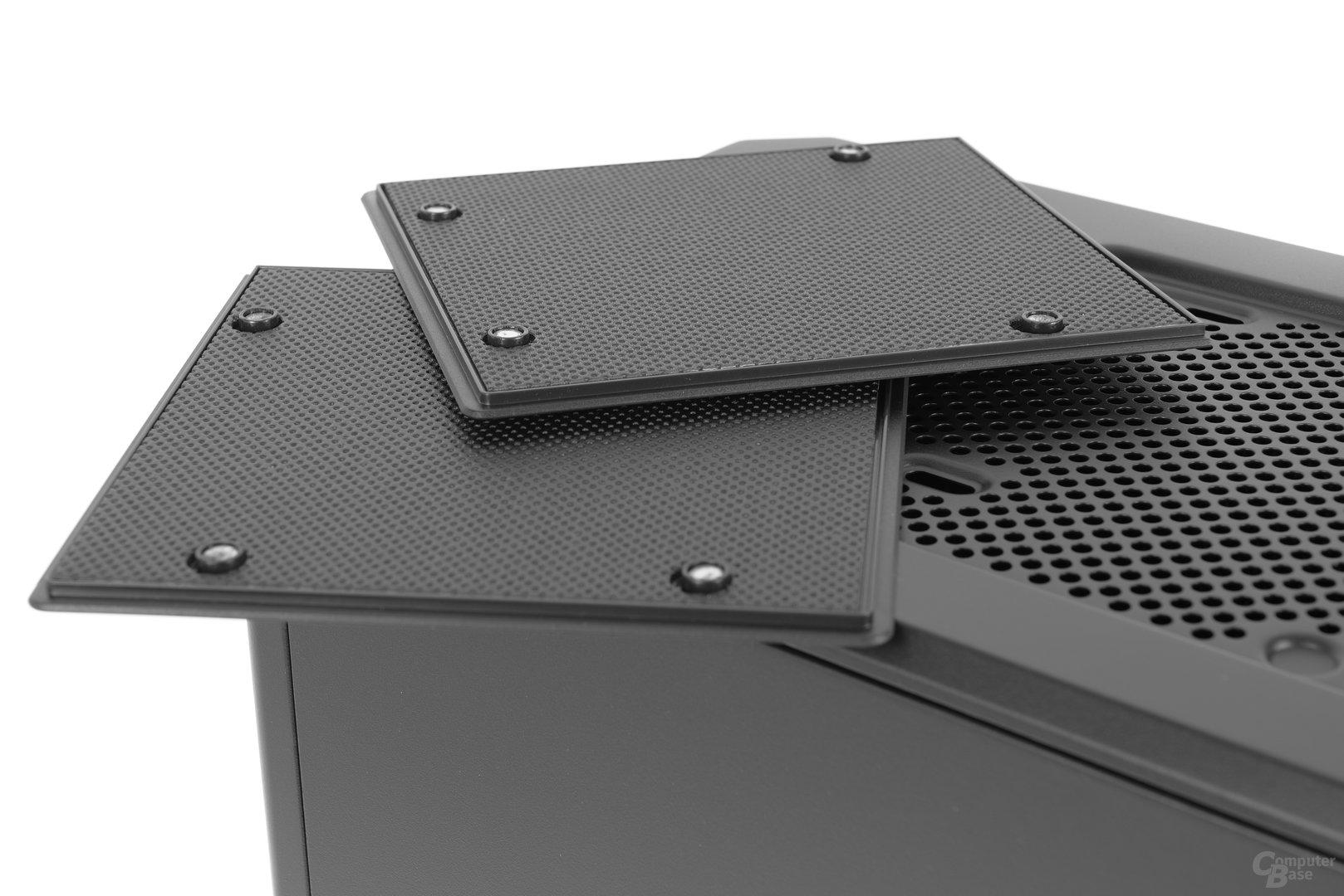 Phanteks Eclipse P400S – Magnetische und gedämmte Platten entnommen
