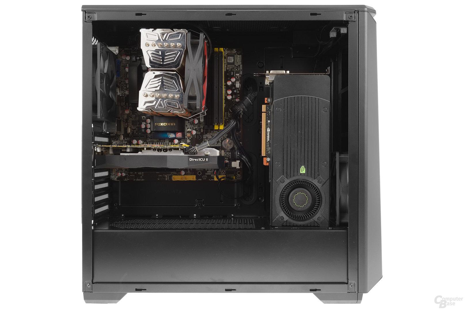 Phanteks Eclipse P400S – Testsystem