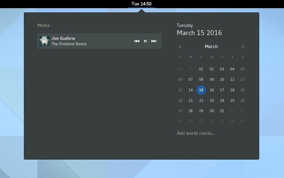 Media-Kontrolle im Kalender