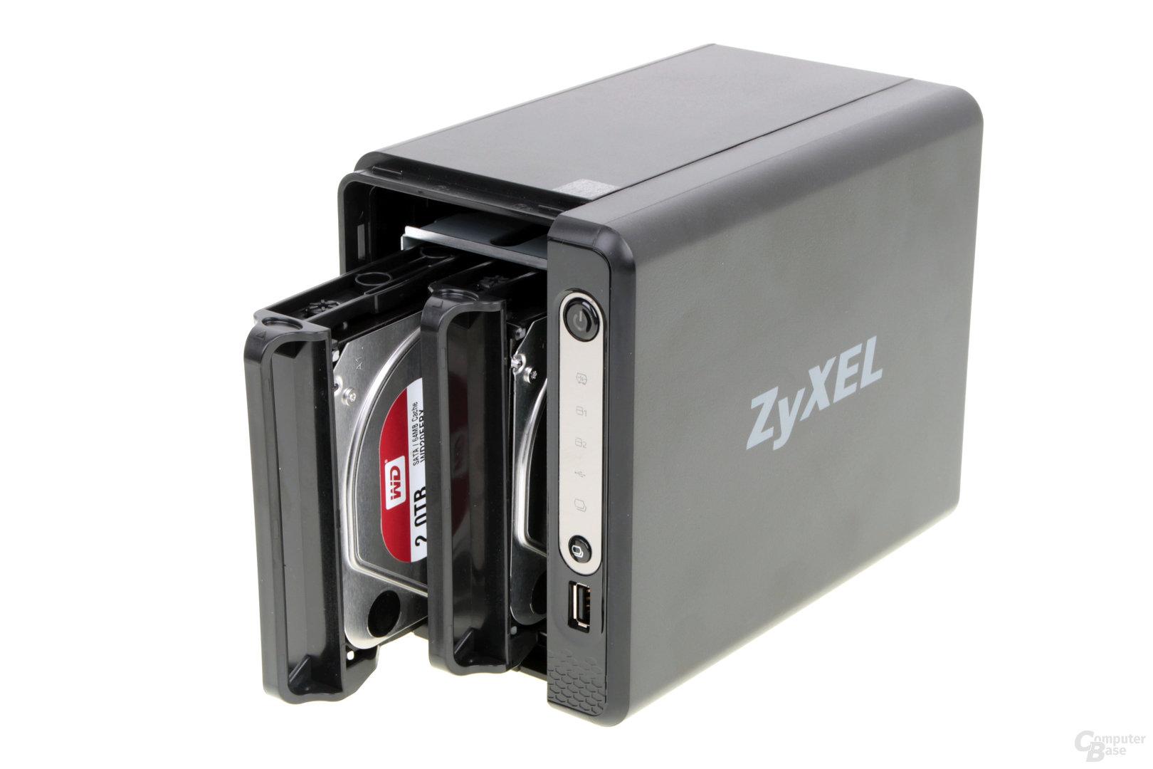 ZyXEL NAS326 im Test