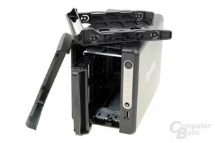 ZyXEL NAS326 – keine schraubenlose Montage der HDDs
