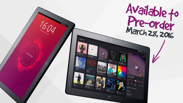 Termin: Ubuntu-Tablet Aquaris M10 ab 28. März vorbestellbar