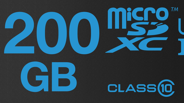 microSDXC: Speicherkarten mit 200 GByte von Lexar und Patriot