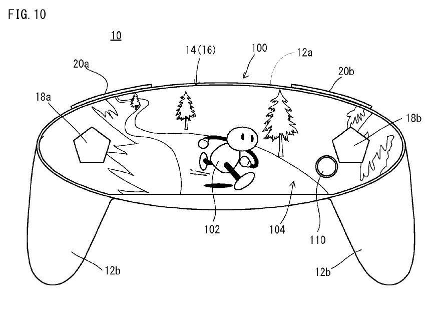 Skizze des zum Patent angemeldeten Controllers