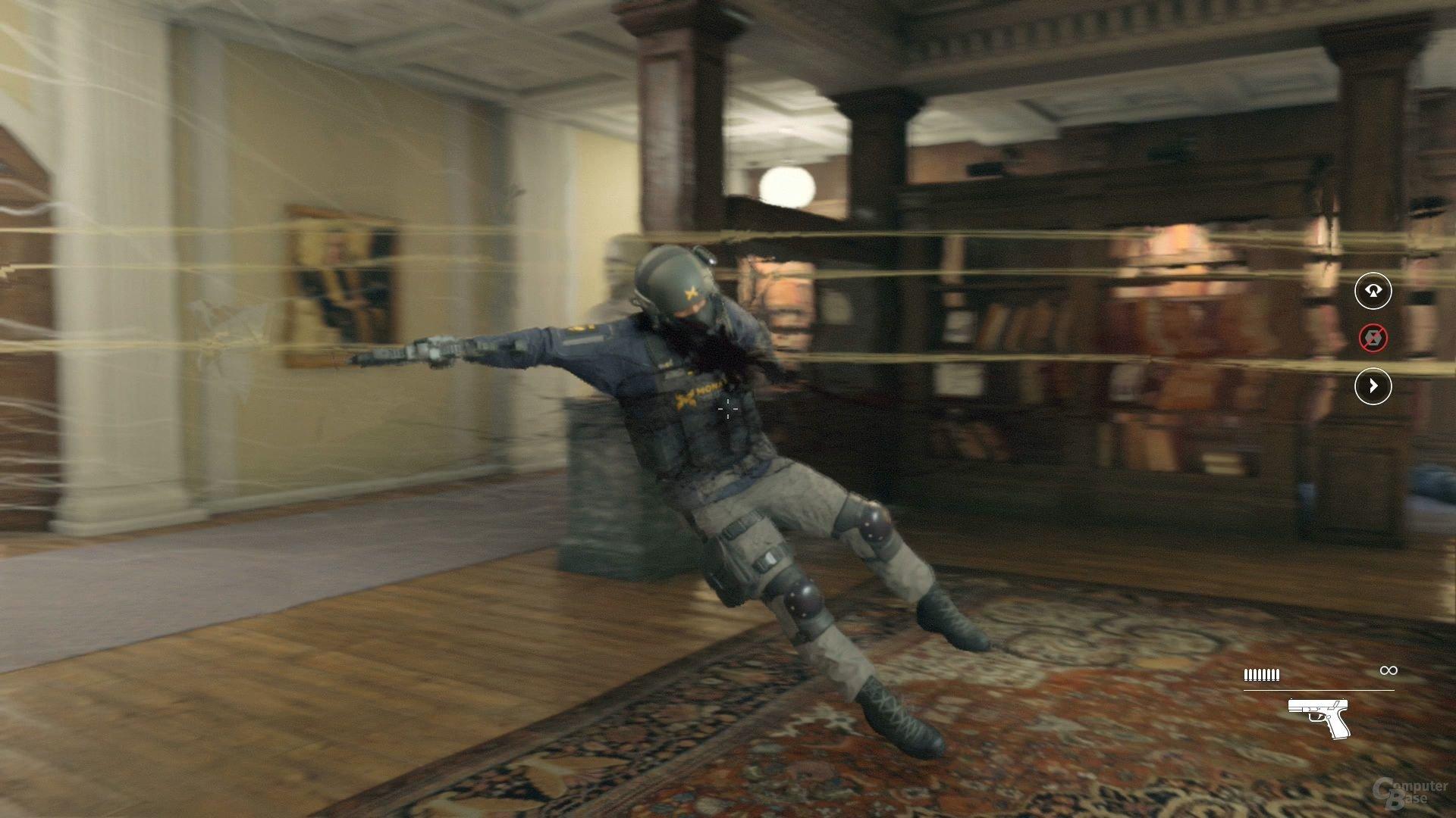 Quantum Break zelebriert das Ende von Gefechten in Slow-Mo