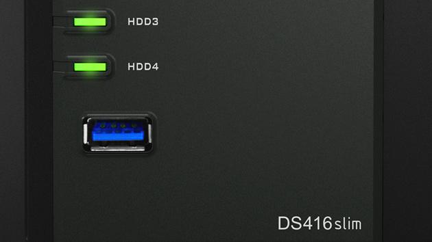 """Jetzt verfügbar: Synology DS416 slim als kompaktes NAS für 2,5""""-HDDs"""