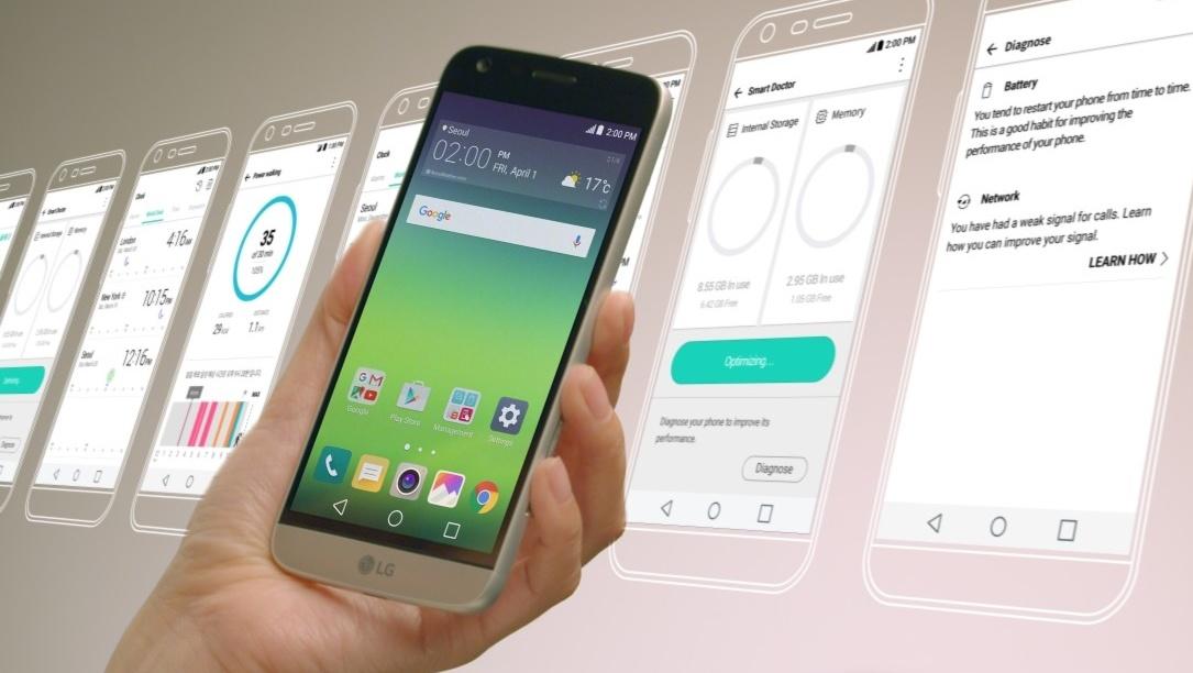 LG G5: UX-5.0-Benutzeroberfläche kommt doch mit App-Drawer
