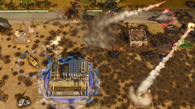 Act of Aggression: Reboot Edition hat Command & Conquer als Vorbild