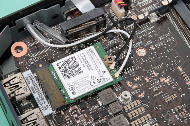 WLAN und SSD setzten auf M.2