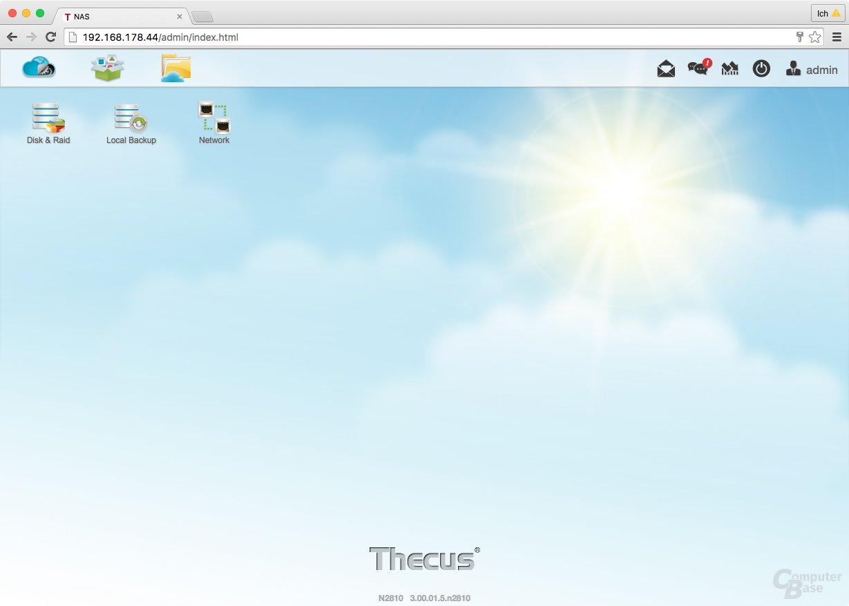 ThecusOS 7.0 – Neues Betriebssystem für das N2810