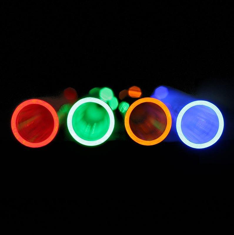 CoolForce LED Anschlüsse – beleuchtete Rohre