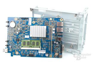 """Thecus N2810 – """"erweiterbarer"""" RAM auf dem Mainboard"""
