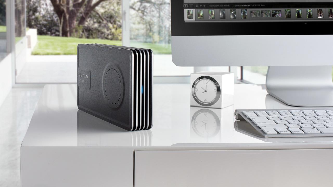 Seagate Innov8: Externe 8-TB-Festplatte benötigt kein Netzteil dank USB C