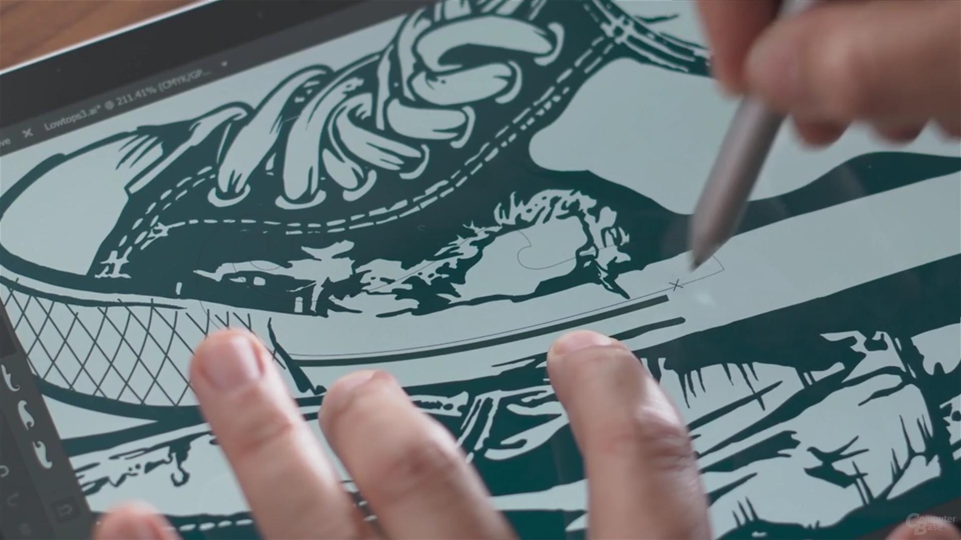 Anniversary Update: Touch-Eingabe und Stiftnutzung gleichzeitig