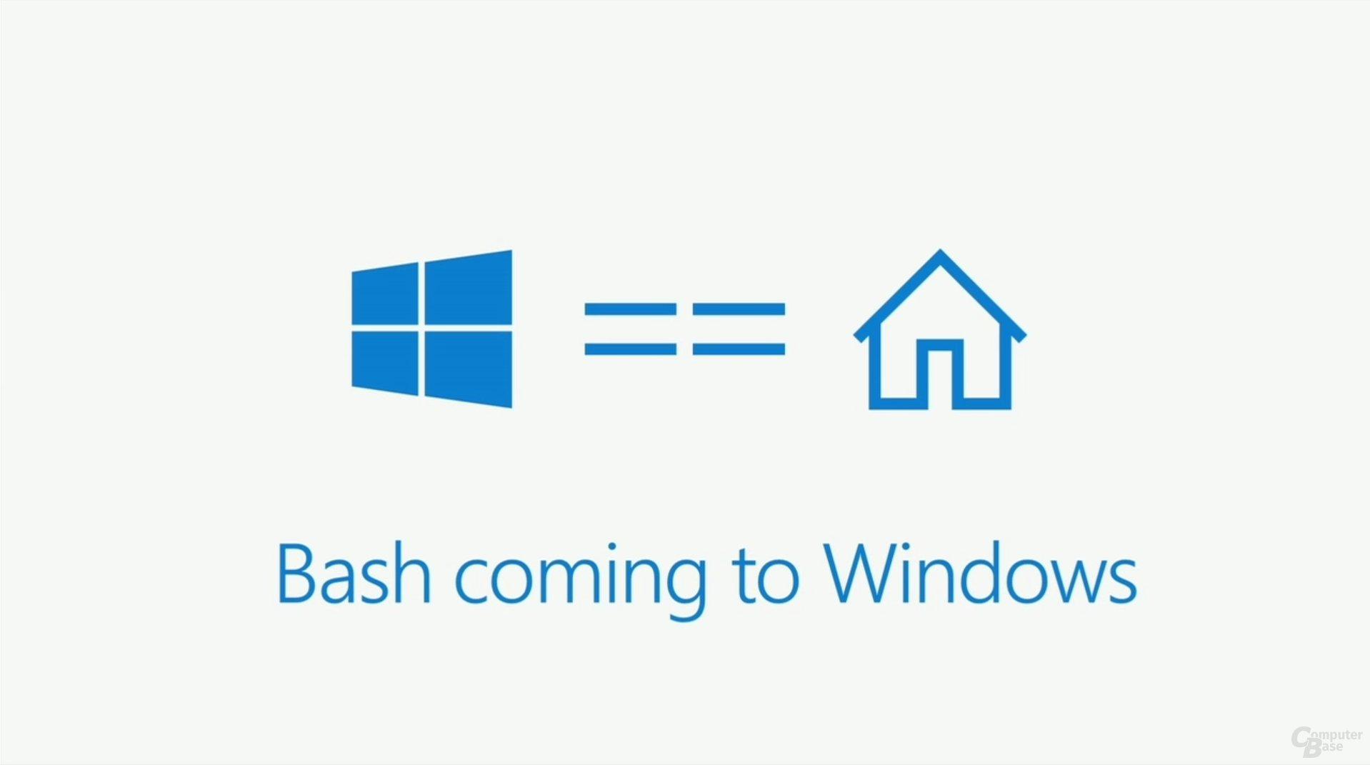 Bash für Windows