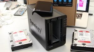 Synology DS216+ im Test: Weniger Schnittstellen, schneller Braswell-SoC