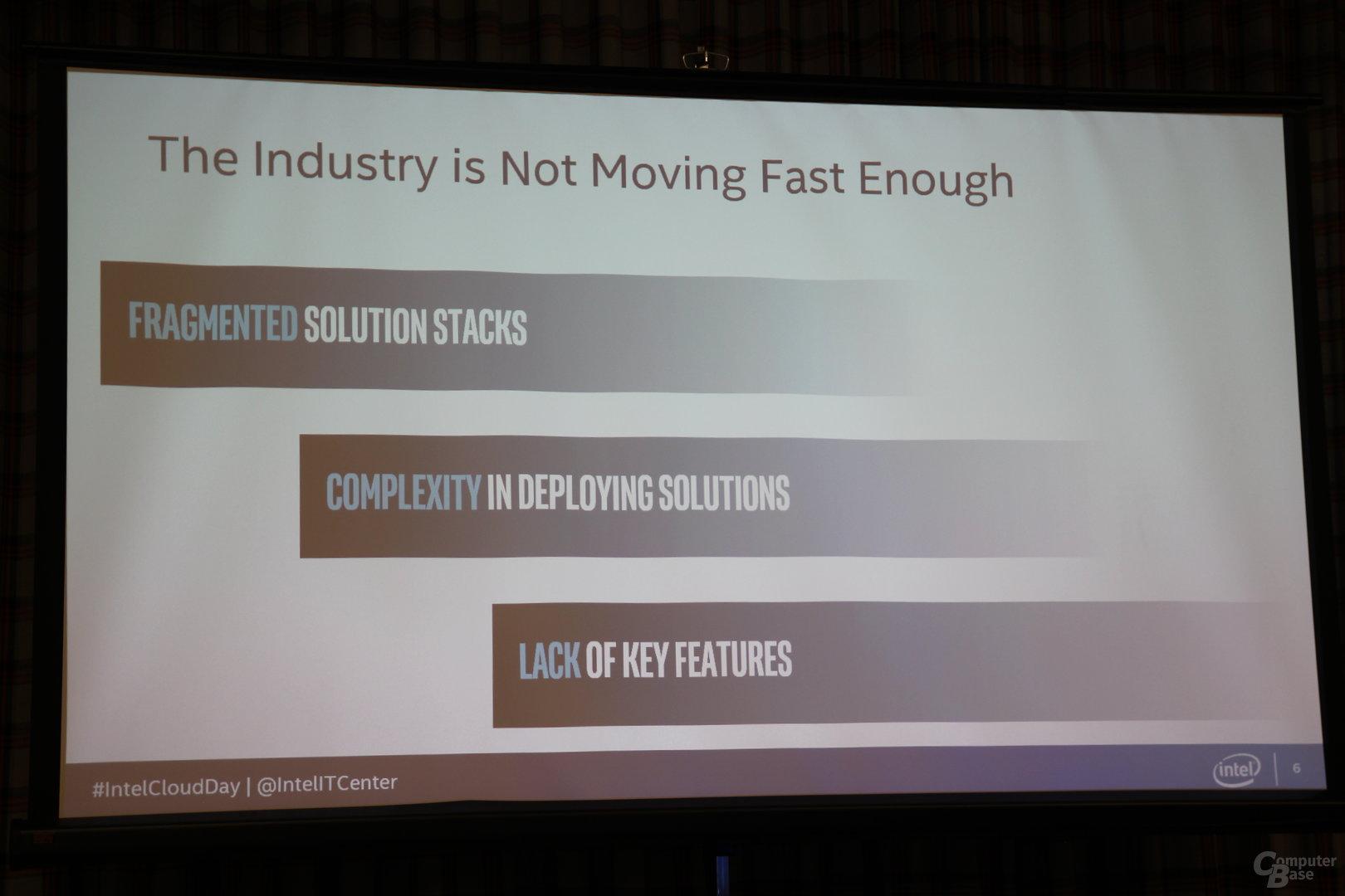 Die Industrie ist bisher zu langsam