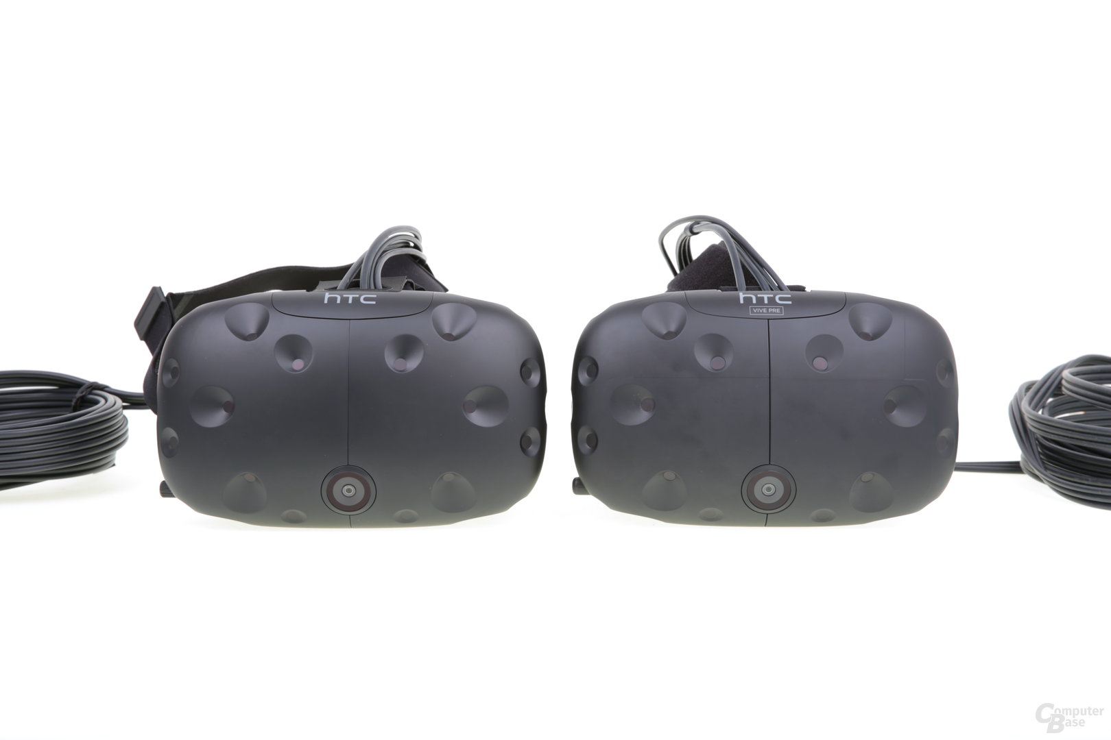 Links final, rechts HTC Vive PRE