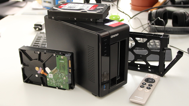 QNAP TS-251+ im Test: Leistung und Multimedia geschickt kombiniert