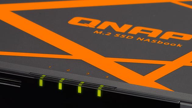 Jetzt verfügbar: QNAP TBS-453A für 4 M.2-SSDs und mit Celeron N3150