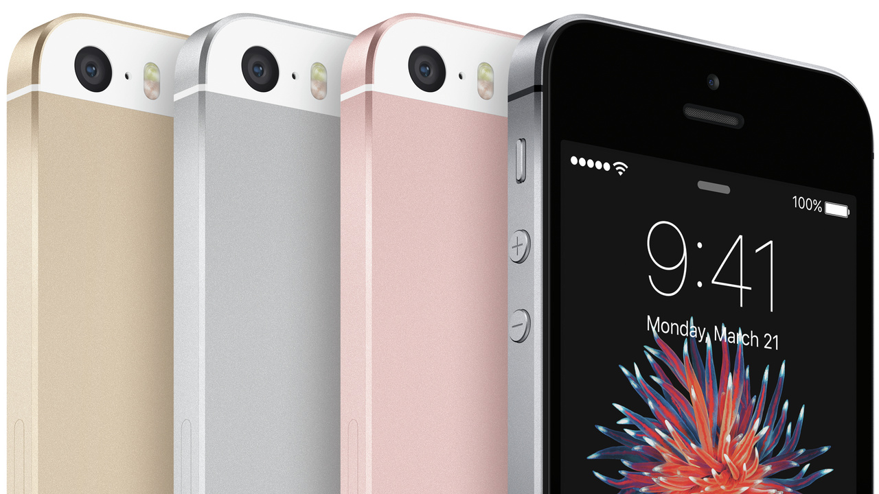 iPhone SE: Komponenten-Mix aus iPhone 5s, 6 und 6s