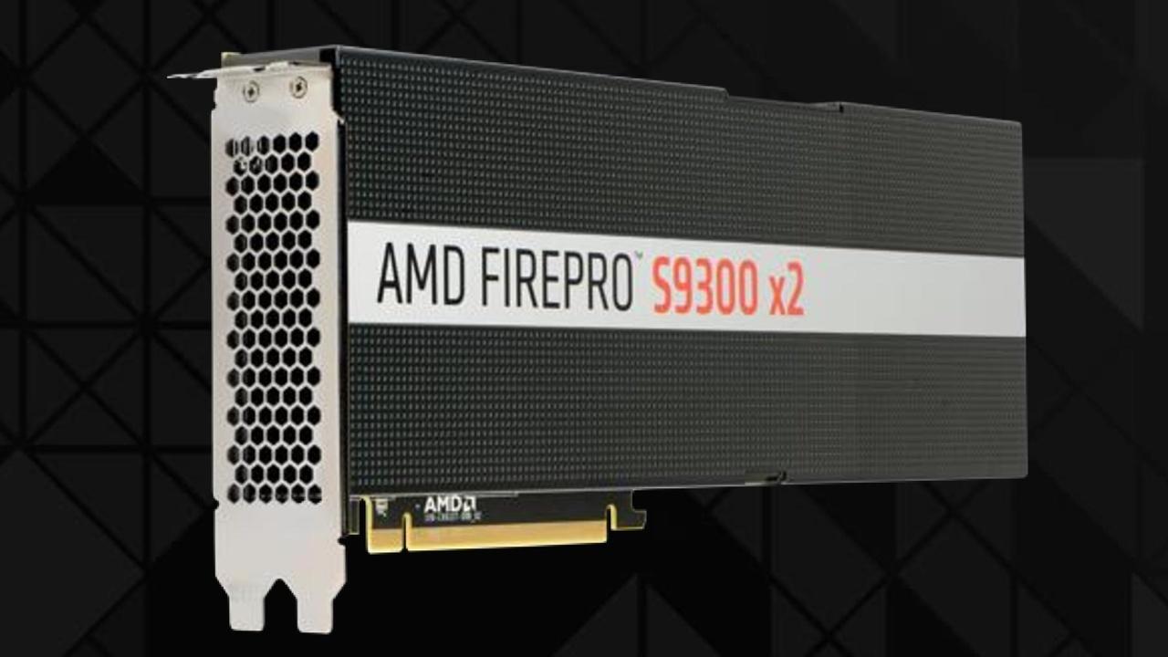FirePro S9300 X2: Radeon Pro Duo ohne Video-Ausgänge für HPC-Systeme