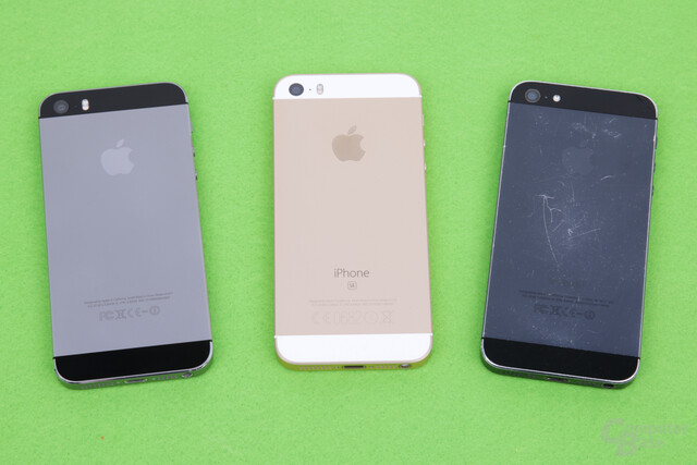 iPhone 5s, iPhone SE und iPhone 5
