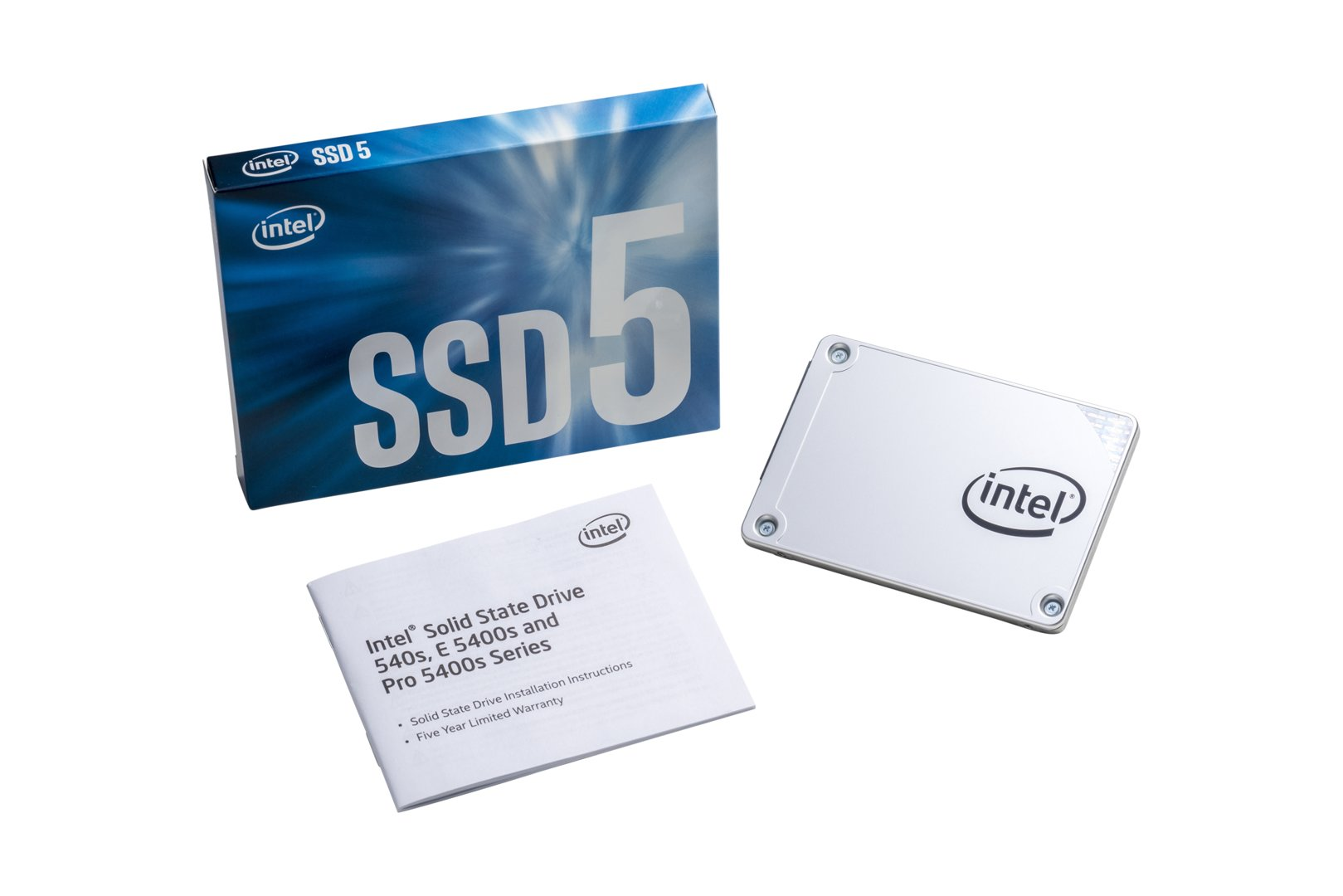 Intel SSD 540s 2,5 Zoll