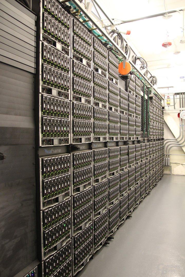 Von außen eine graue Maus: der Supercomputer