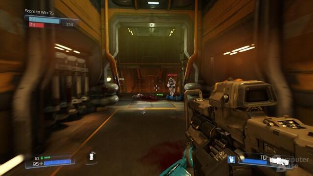 Im Kern bleibt Doom ein klassischer Shooter