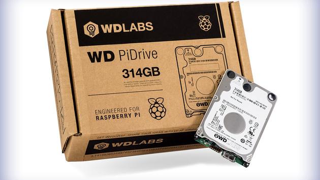Jetzt verfügbar: WD PiDrive für 34,28 Euro im deutschen WD Store