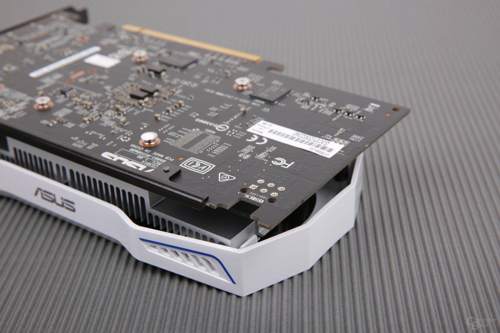 Asus GeForce GTX 950 2G – fehlender Stromanschluss