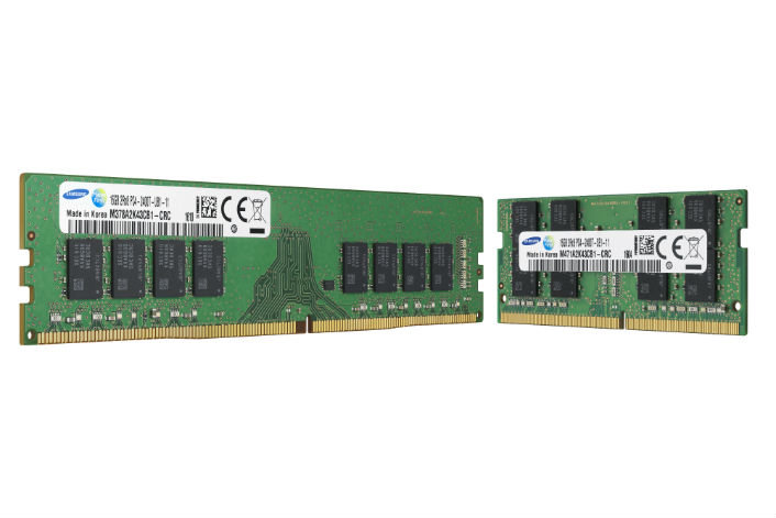 Samsung fertigt DRAM der 10-nm-Klasse in Serie
