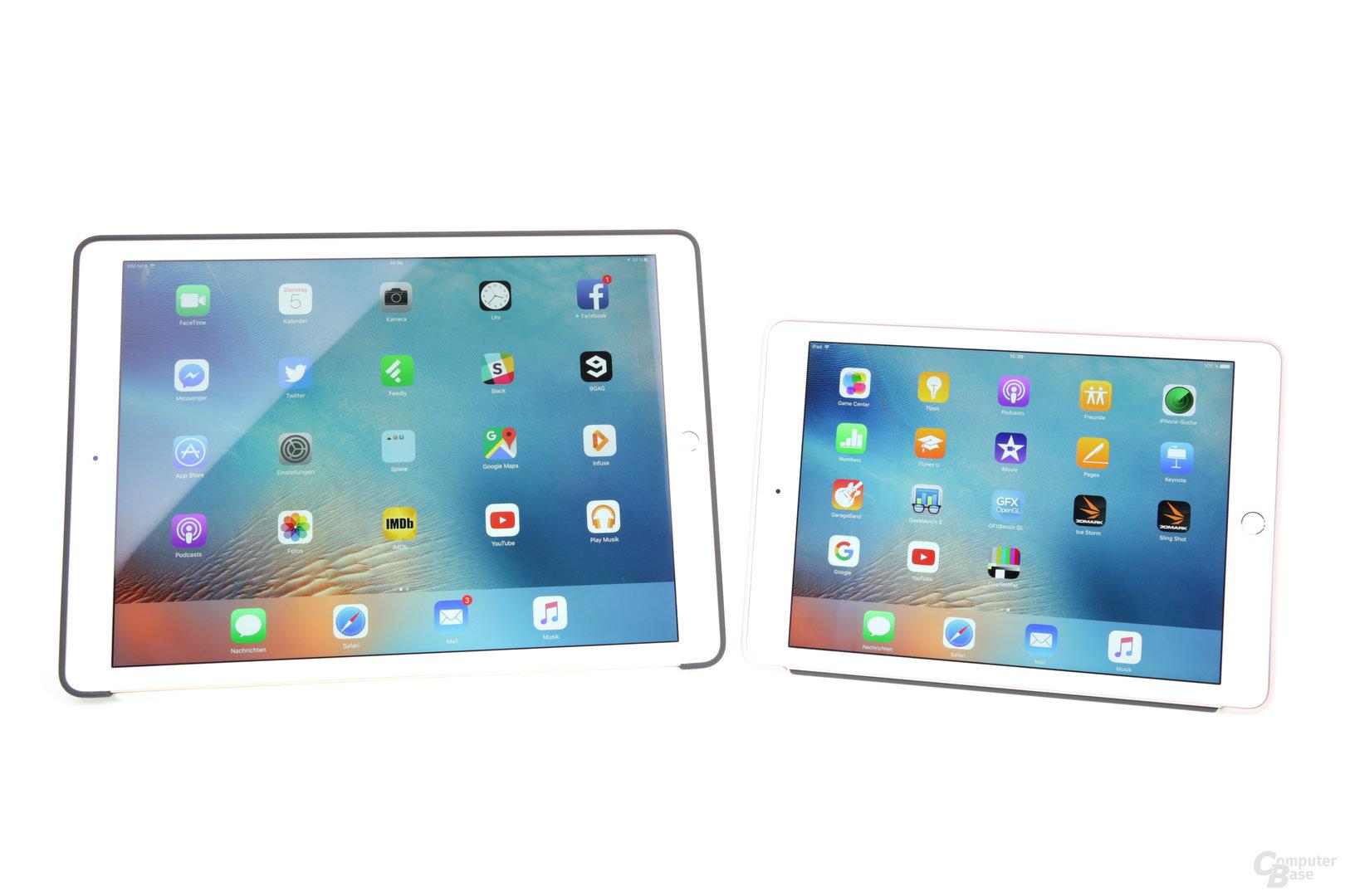 Das erste iPad Pro ist deutlich größer