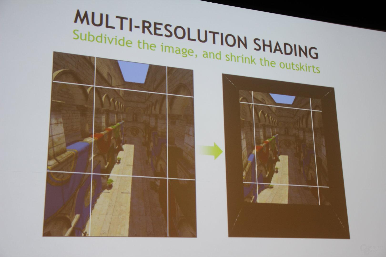 Multi-Res Shading