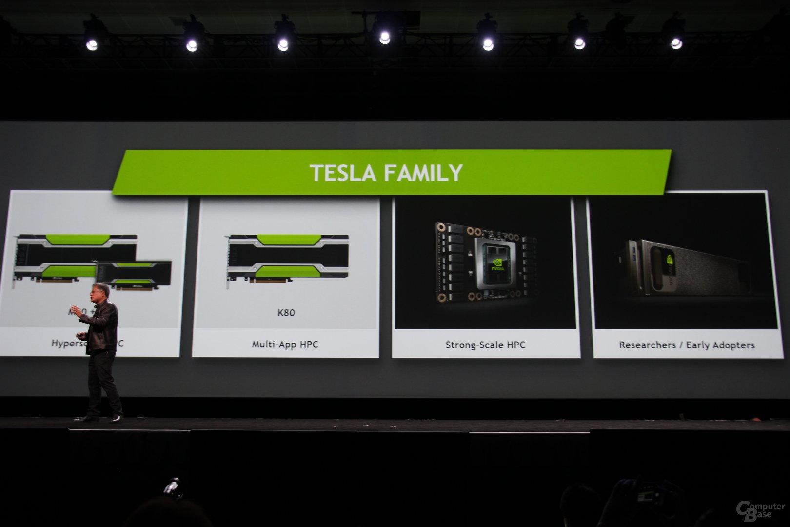 Die Tesla-Familie