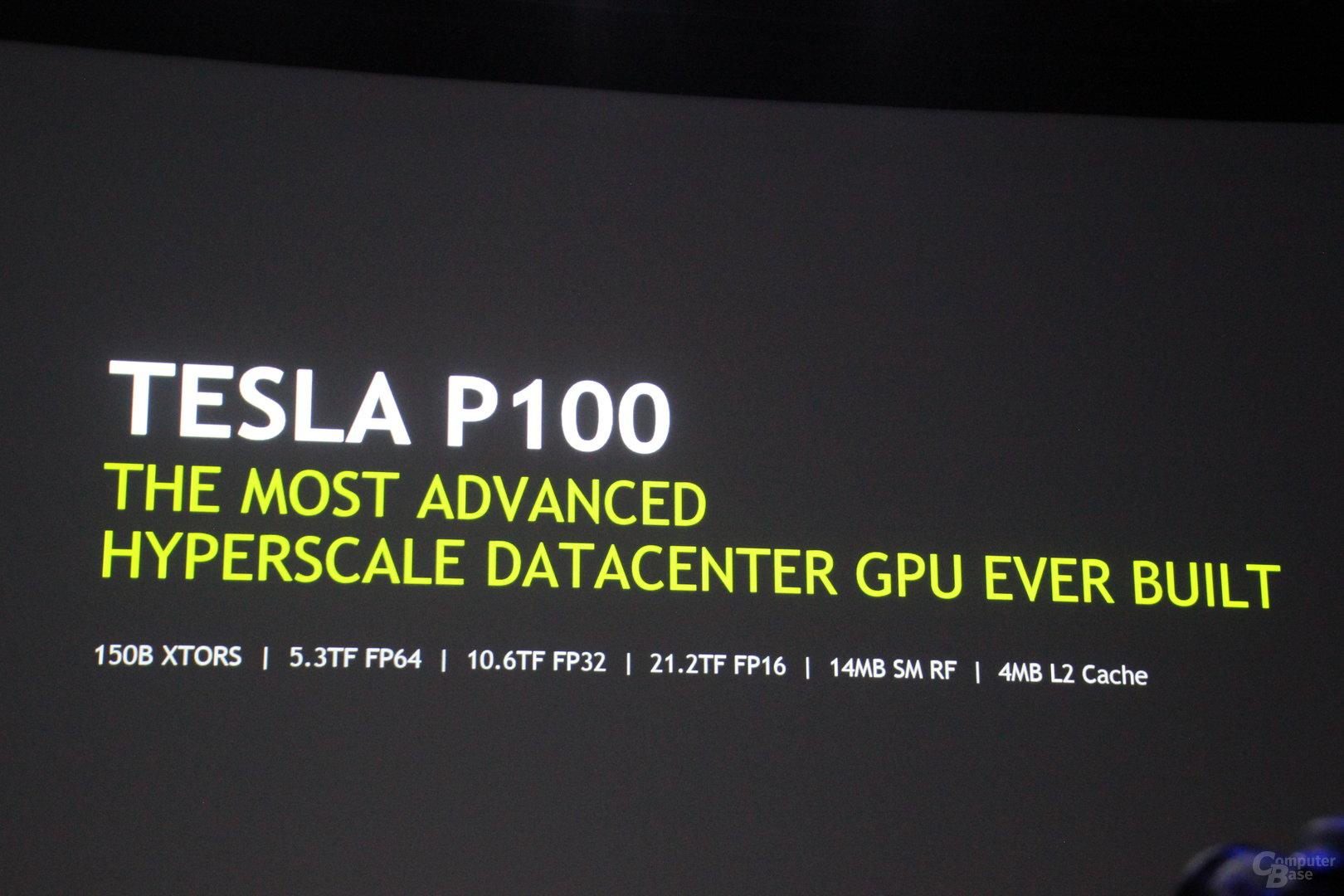 Nvidia Tesla P100 mit Pascal-GPU