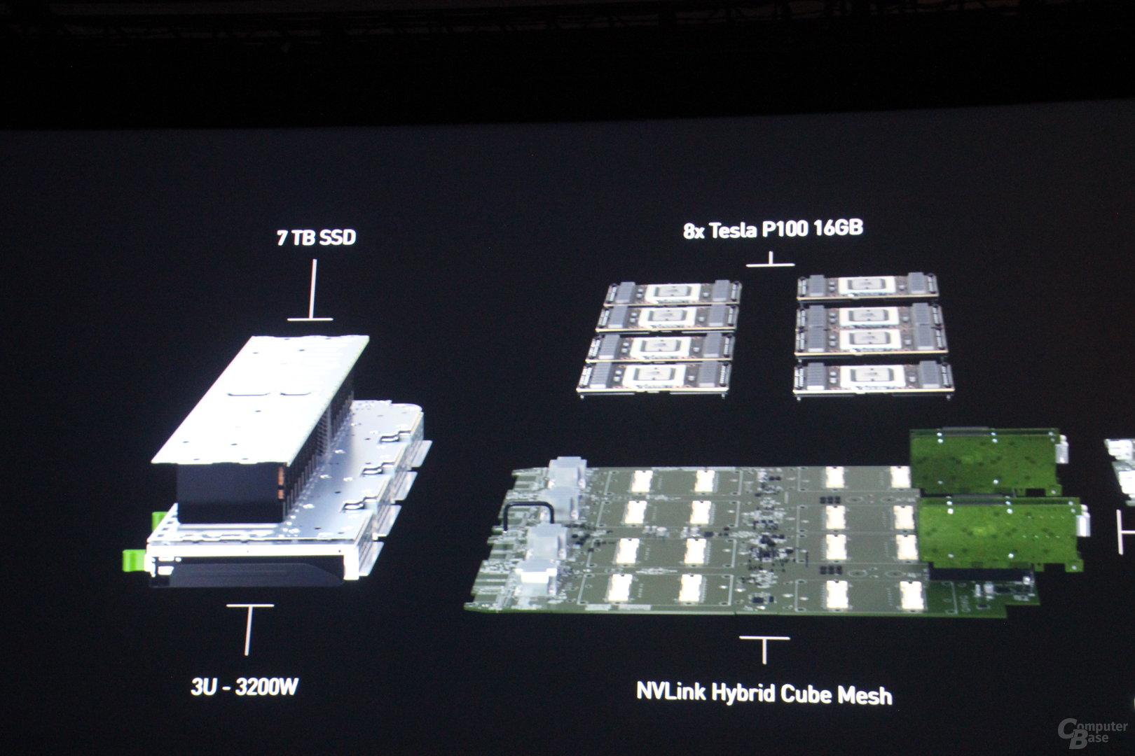 Nvidia DGX-1 mit 8 Tesla P100