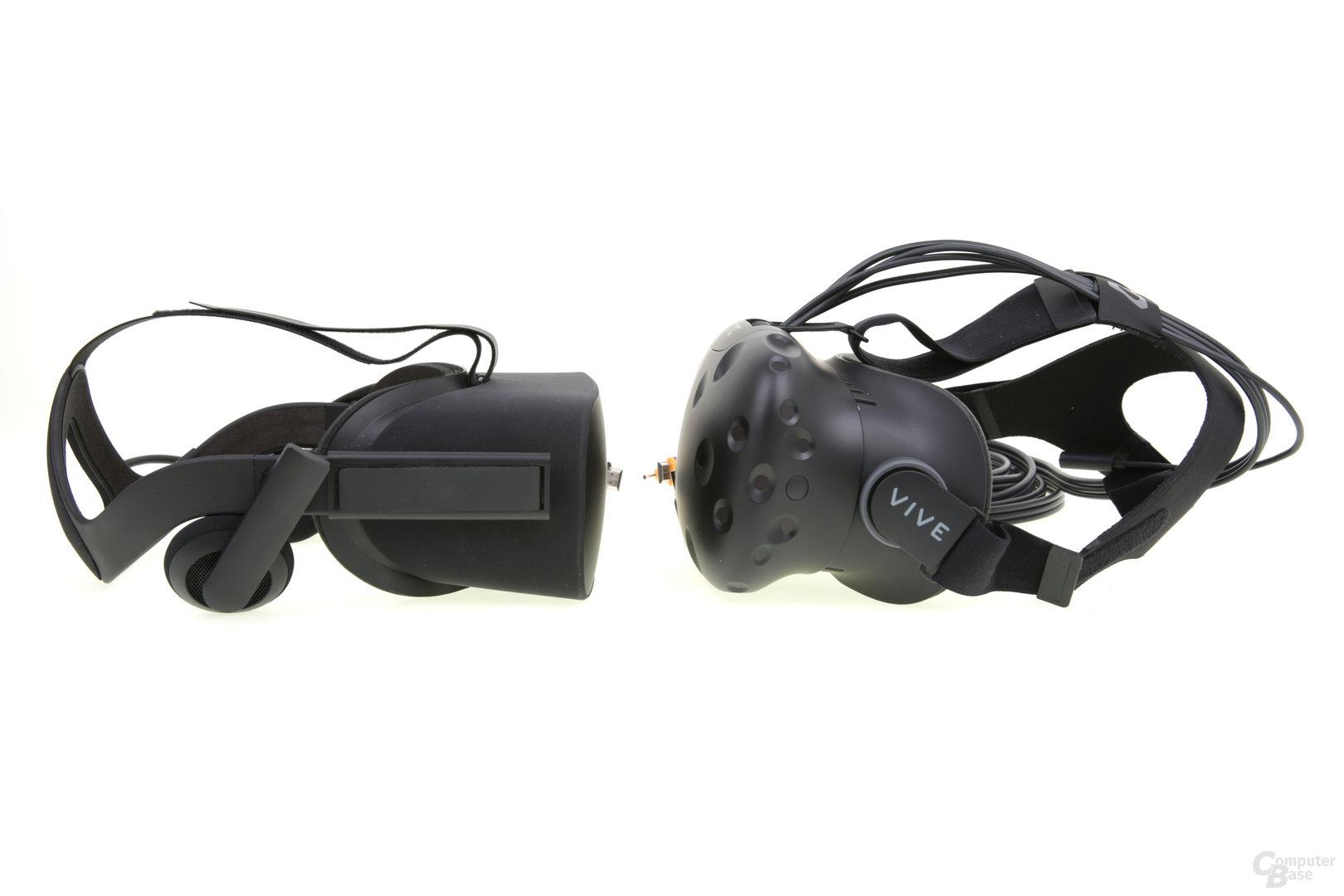 Oculus Rift oder HTC Vive?