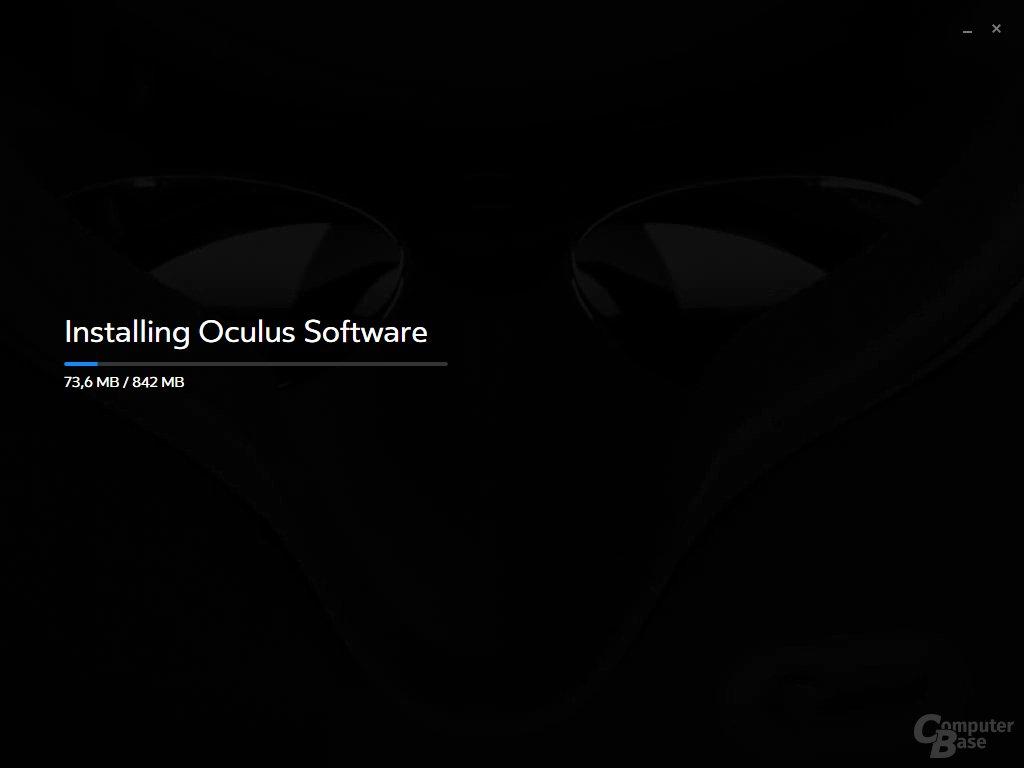 Die Software wiegt knapp 900 Megabyte