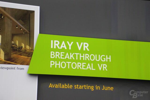 Iray VR zur GTC 2016